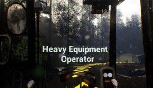 heavy equiptmemt operator