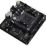 value b550m hdv motherboard angle